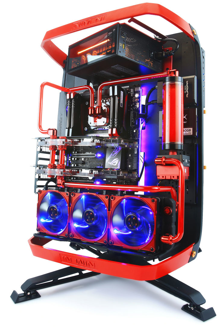 In Win Intros The X Frame 2 0 Open Chassis Techpowerup