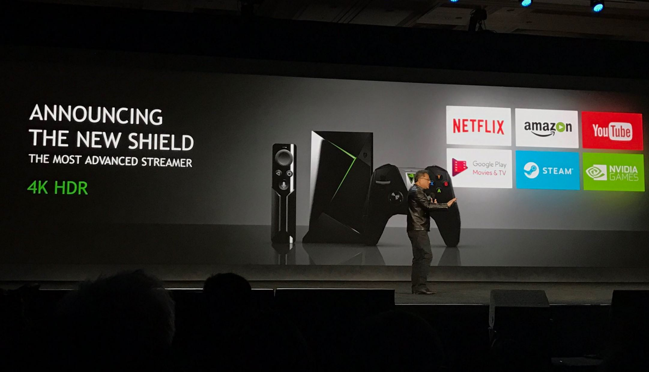 NVIDIA Announces the 2017 Shield with 4K HDR Capability