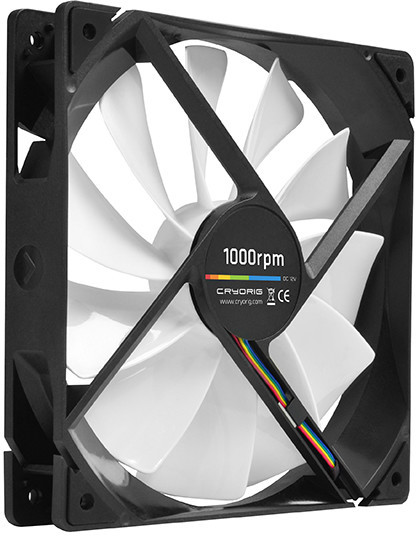 cryorig announces the new qf140 performance and qf140 silent system fans techpowerup forums. Black Bedroom Furniture Sets. Home Design Ideas