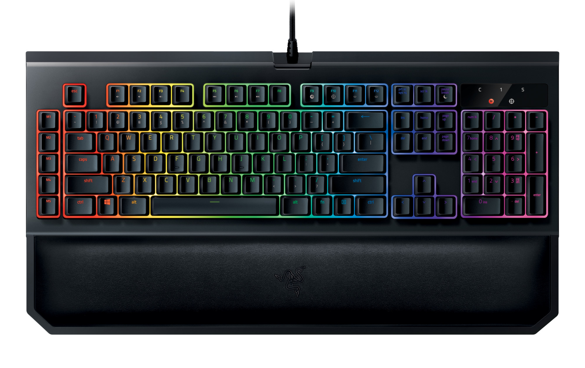 Unchanged BlackWidow features on this V2 version include Razeru0027s Chroma lighting (which boasts inidually backlit keys at 16.8 million colors per key) ...  sc 1 st  TechPowerUp & Razer Updates Its Successful BlackWidow Chroma Keyboard ...