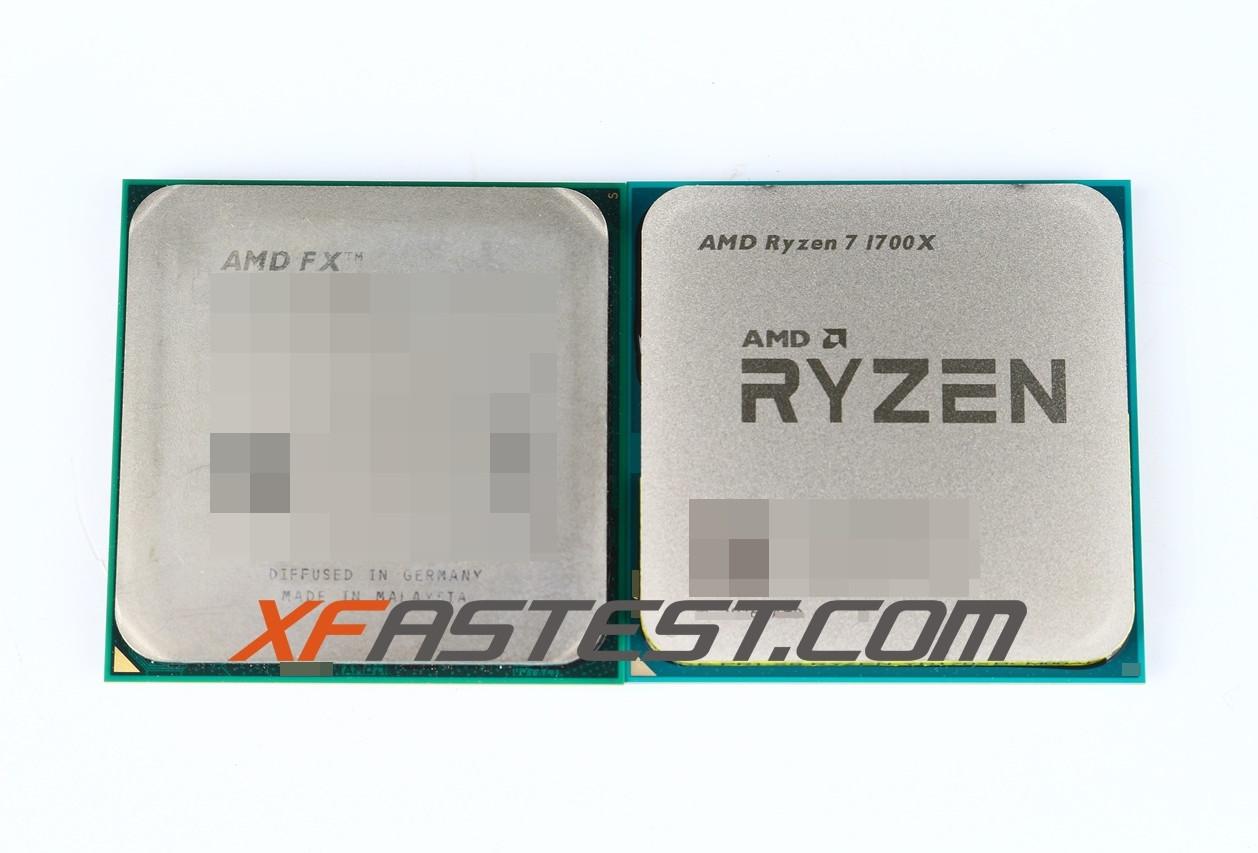 Amd S Ryzen 7 1700x Glorious Benchmarks Leak Ihs Pin Layout Photographed Techpowerup