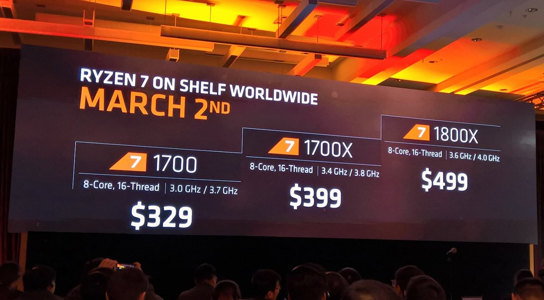 AMD Reveals Ryzen 7 Family, Pricing, and Radeon Vega Logo   TechPowerUp
