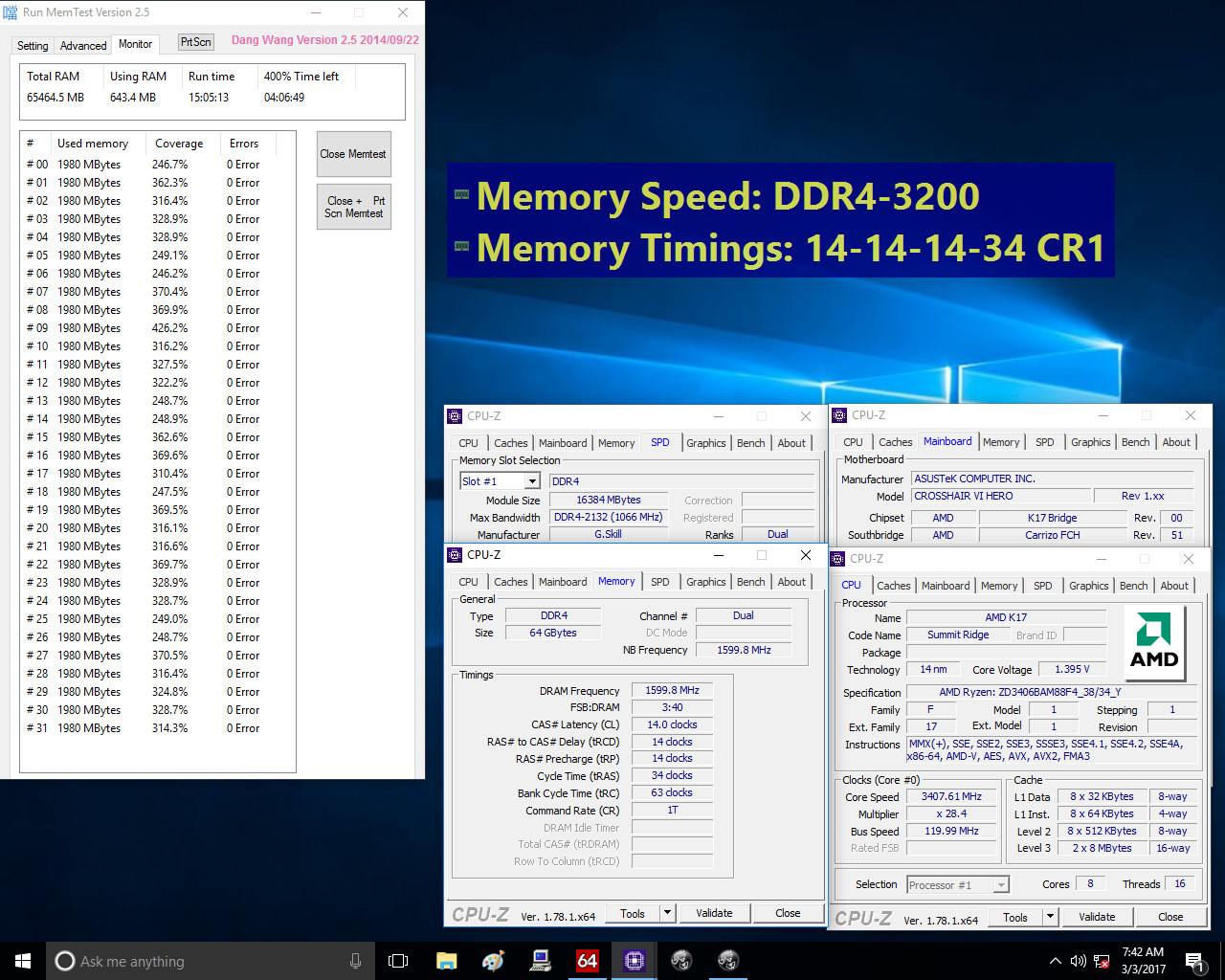 AMD Shares Details on Ryzen DDR4 Memory Support and Upcoming
