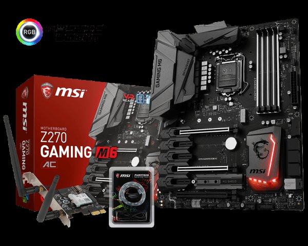 MSI Announces the Z270 Gaming M6 AC Motherboard | TechPowerUp