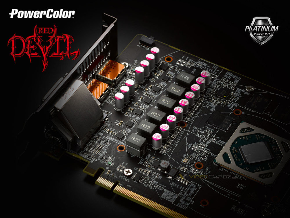 PowerColor Teases RX 500 Series Red Devil's Upgraded VRM Circuitry