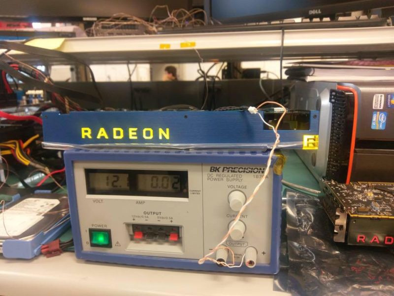 AMD Radeon Vega Frontier Edition Spotted in AMD's Labs ...