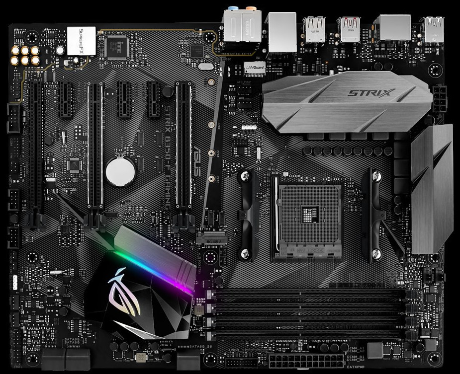 ASUS Intros the ROG STRIX B350-F Gaming Motherboard | TechPowerUp