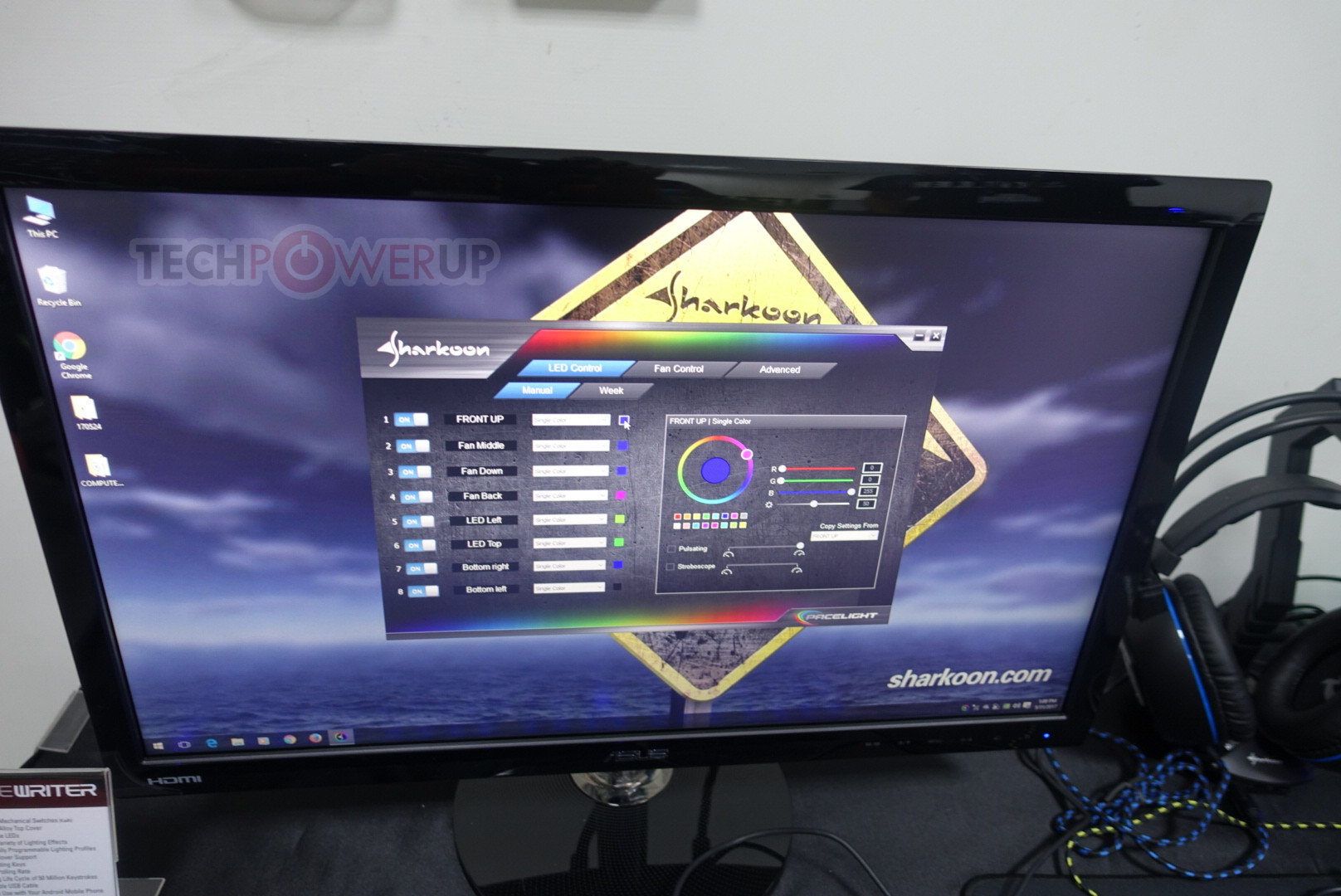 Sharkoon Flaunt Their AM5 Case, Pacelight RGB System at ...