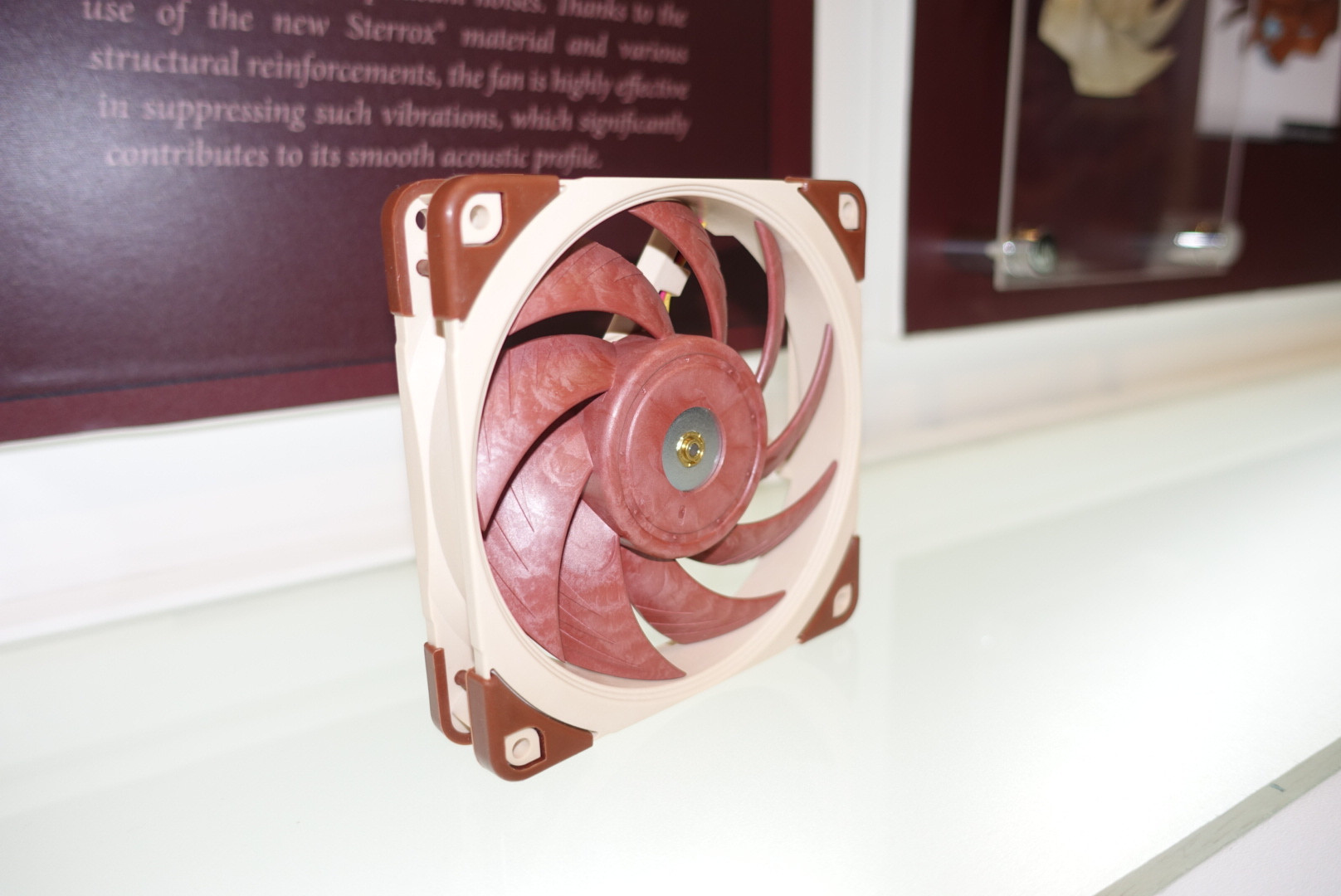 Noctua Demonstrate Their Next-Generation A-Series Fans at