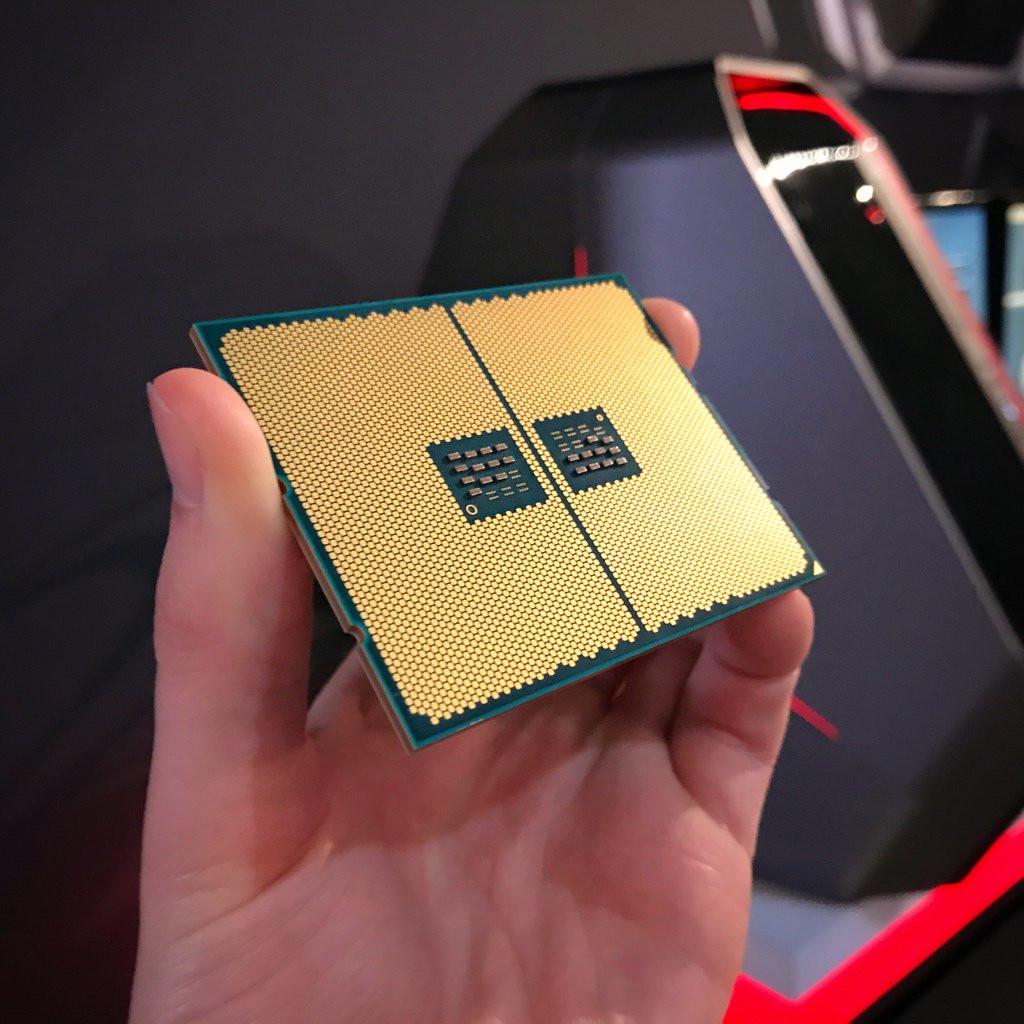 Underside of AMD Ryzen Threadripper Pictured | TechPowerUp