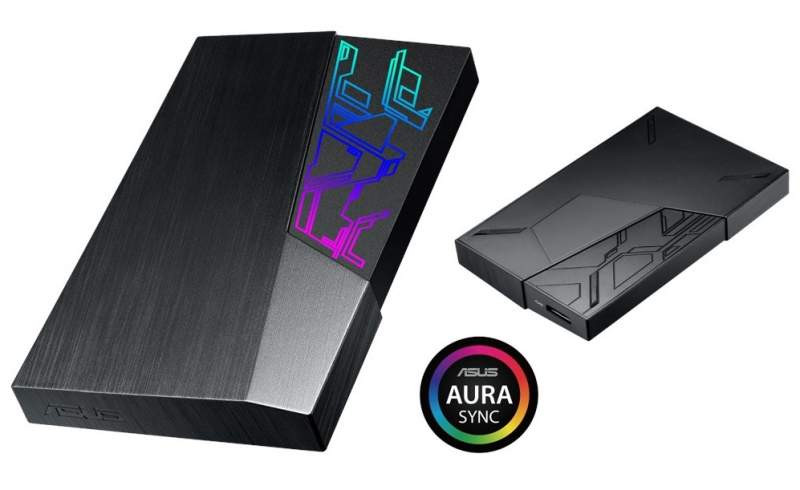ASUS Announces FX External HDDs With Aura Sync RGB Capabilities