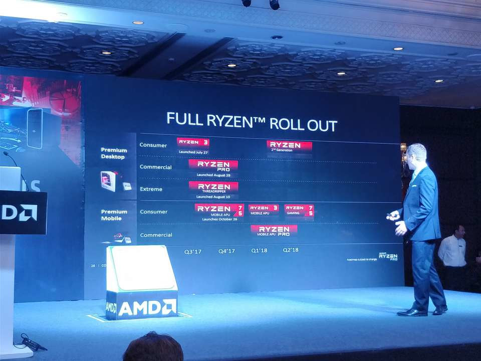 Amd Confirms 2nd Generation Ryzen Processors To Debut In Q1 2018 Techpowerup