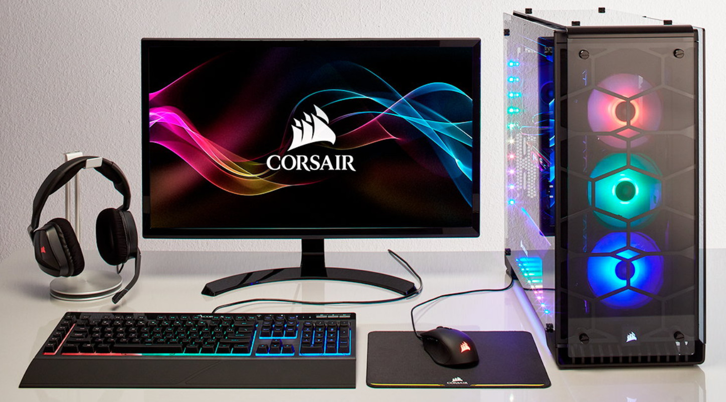 CyberPowerPC Lights-Up Gaming: New Crystal PCs Based on