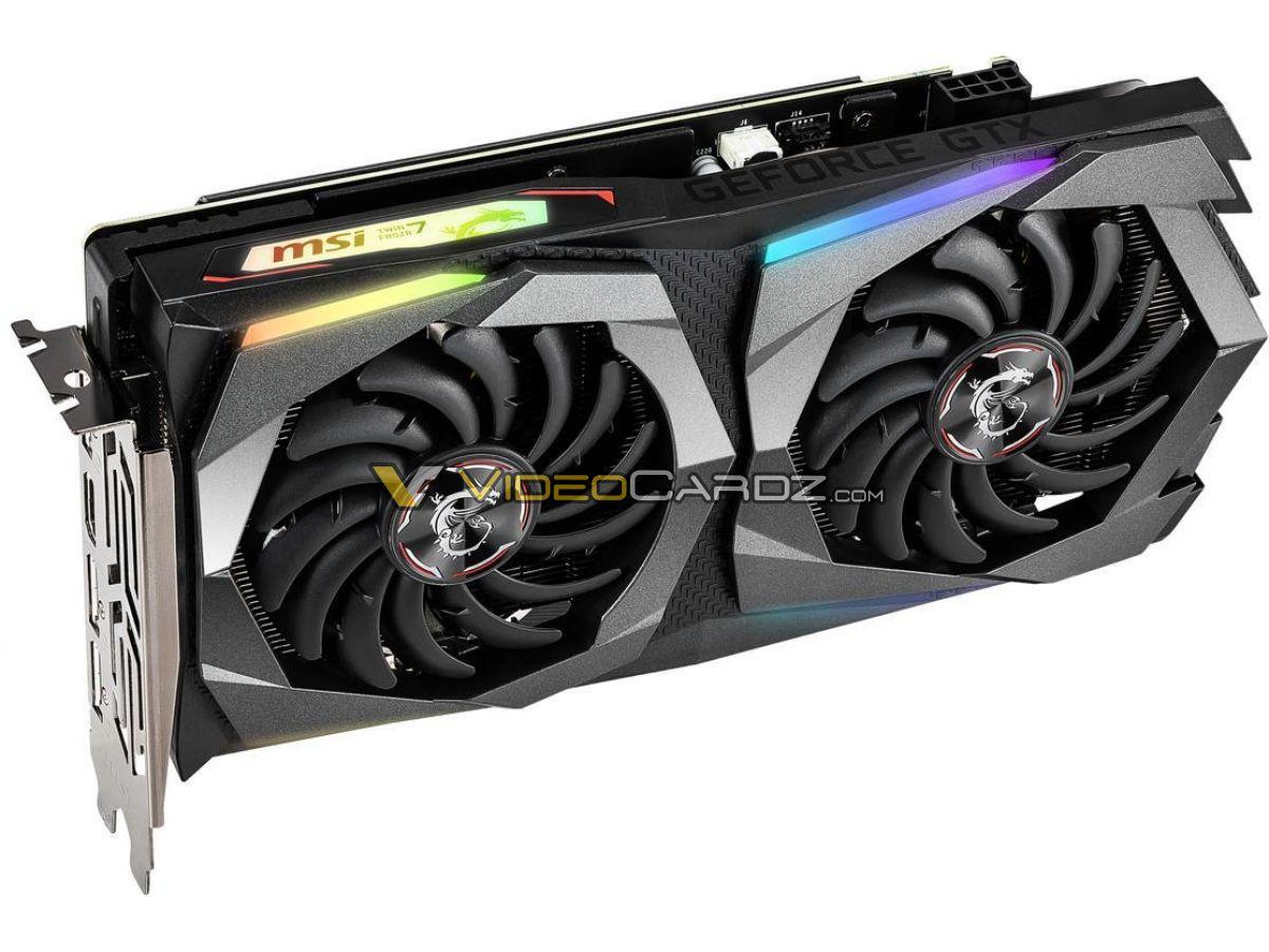 کارت گرافیکهای MSI GeForce GTX 1660 SUPER مشاهده شدند