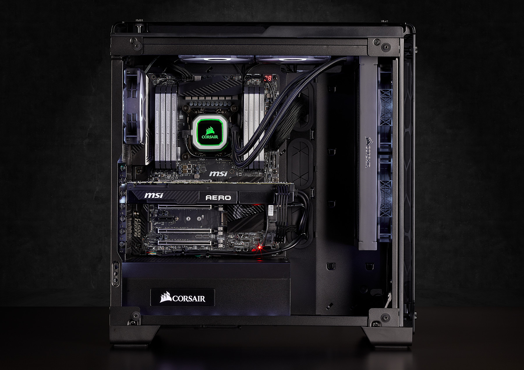 Corsair Launches New Psu Coolers And Case At Ces 2018