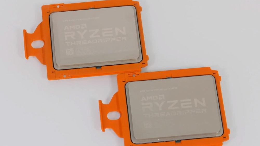 Exposed: AMD Ryzen Threadripper 2990WX, 2950X Get Unboxed