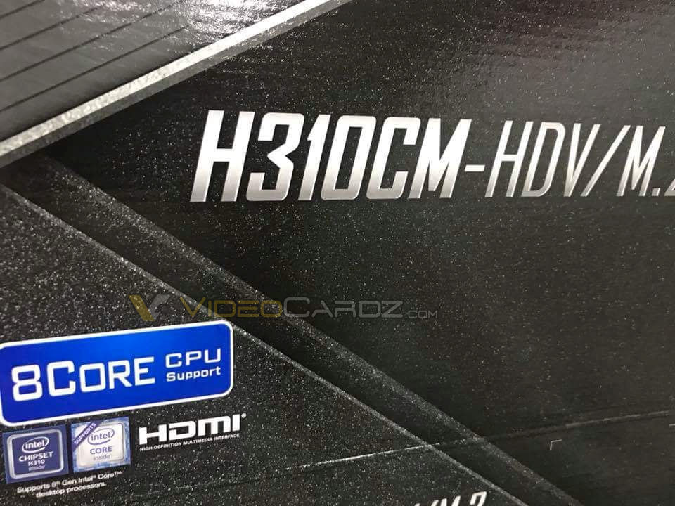 ASRock Offers Confirmation for 8-core CPU Support on Intel's