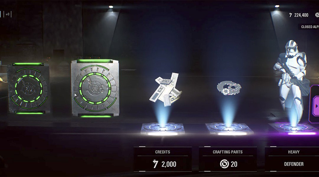 Overwatch, Star Wars Battlefront II Loot Crates Under