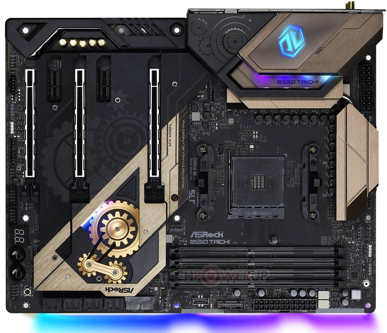 Assortment Of Five Amd B550 Premium Motherboards Pictured Techpowerup