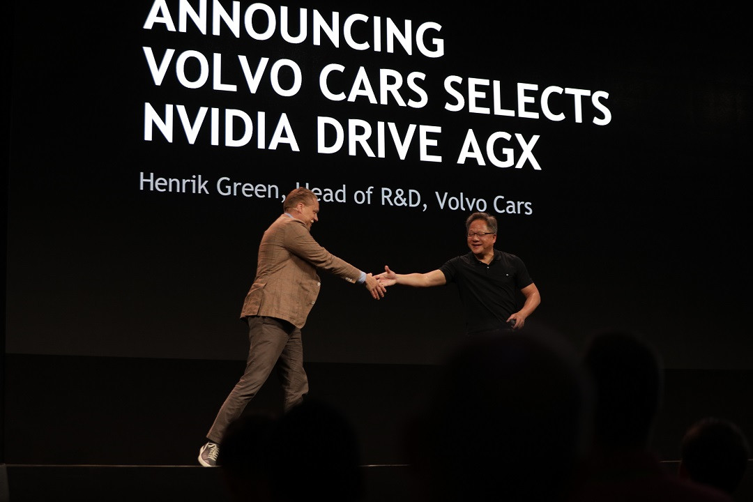 Volvo Partners with NVIDIA and will Integrate Its Drive AGX