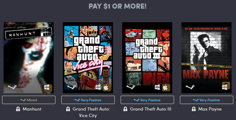Awesome Rockstar Classics Bundles At The Humble Store Techpowerup