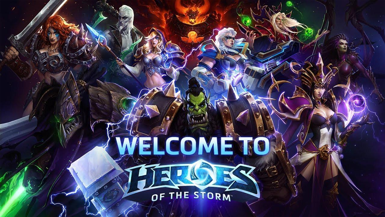 Resultado de imagem para #4 – Heroes of the Storm