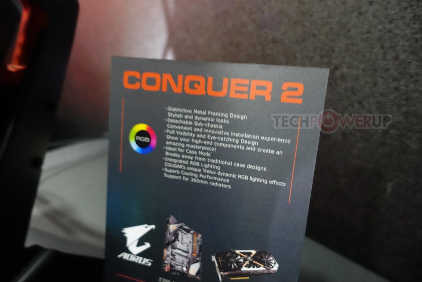Cougar at COMPUTEX 2019: Conquer 2, Gemini S, Gemini M, and Blazer