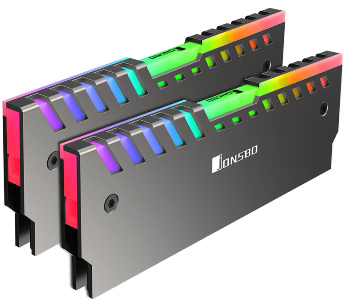 Black RAM Memory HEATSPREADER Heatsink