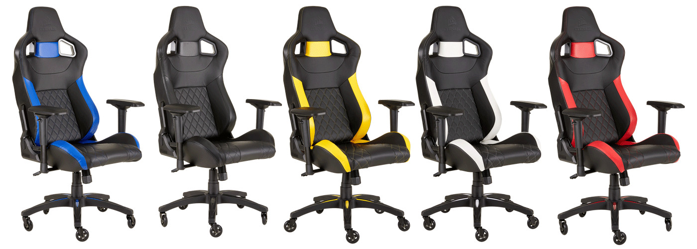 Tremendous Corsair Launches New T2 Road Warrior Gaming Chair Techpowerup Camellatalisay Diy Chair Ideas Camellatalisaycom