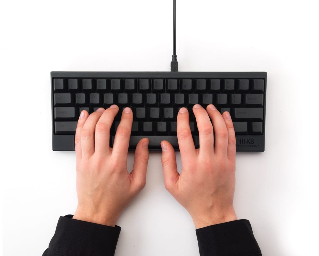 Happy Hacking Keyboard Professional2 Lands in Europe for