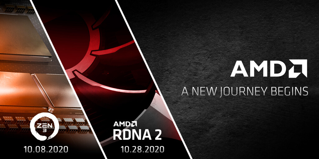Amd Announces A Red October Zen 3 On October 8 Rdna2 On October 28 Techpowerup