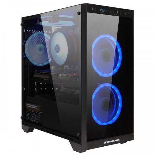 Black USB 3.0 Xigmatek Scorpio Mid Tower Gaming Case