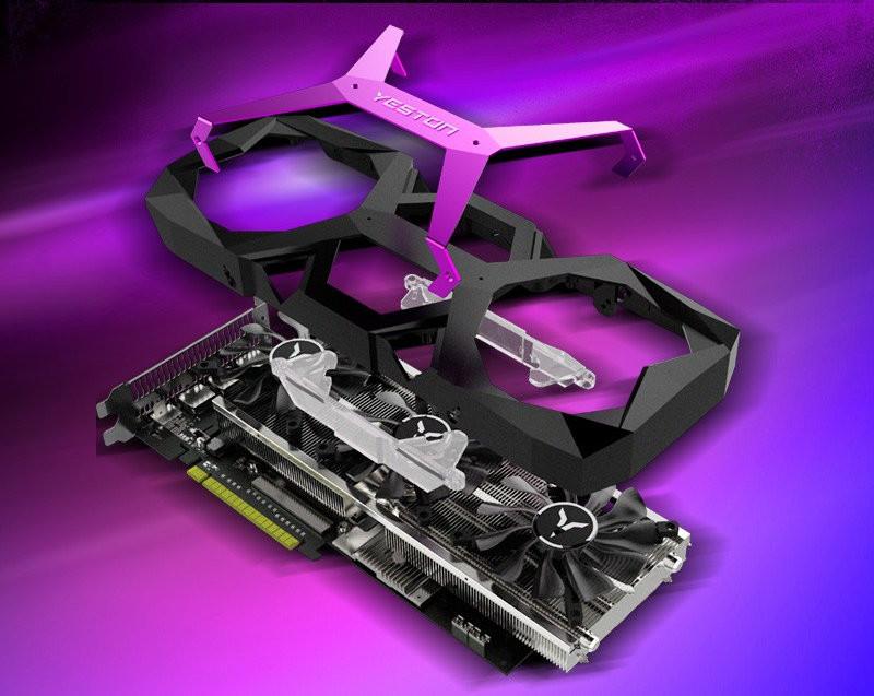 YESTON Purple Radeon RX 590