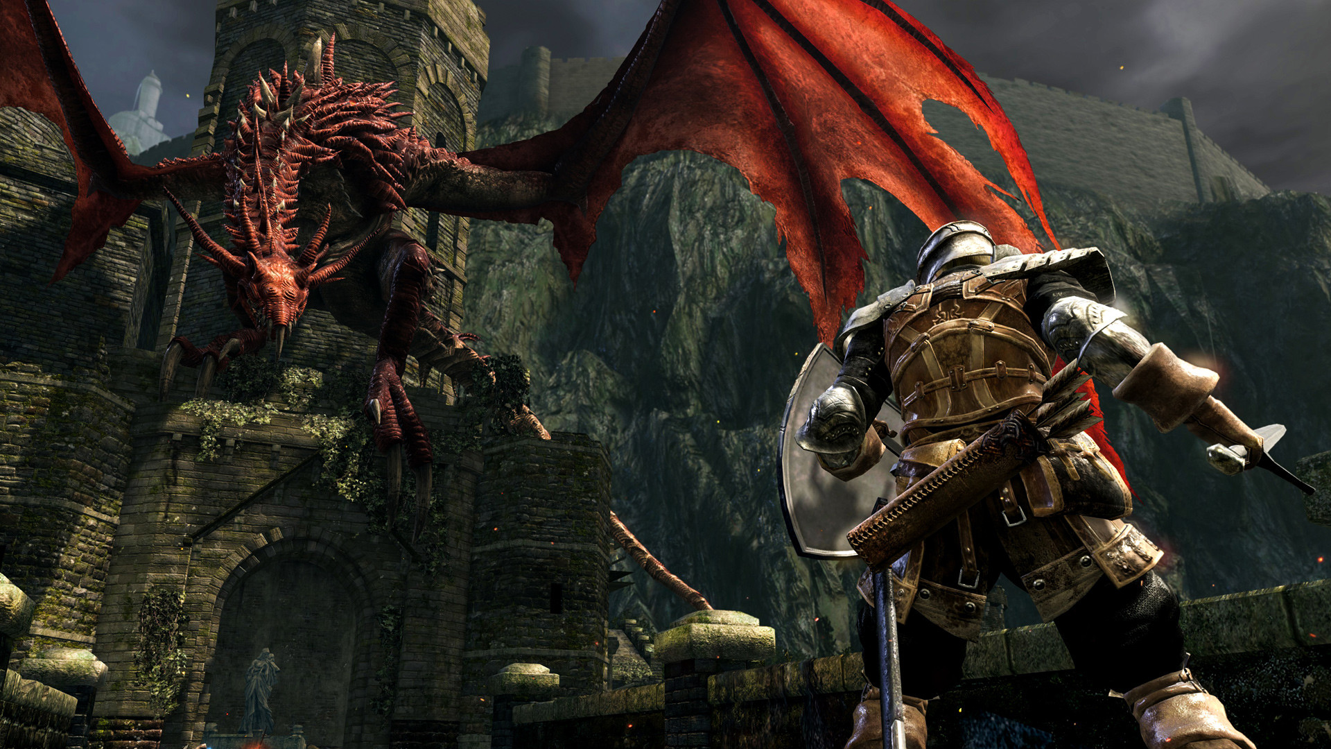 First Official Screenshots Of Dark Souls: Remastered