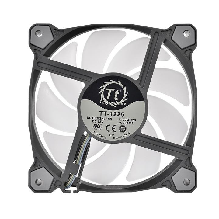 Thermaltake Launches Pure Plus 12 LED RGB Radiator Fan | TechPowerUp