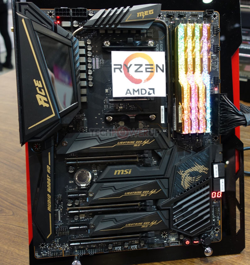 MSI CEO: AMD Plans to Stop Being the Value Alternative, X570