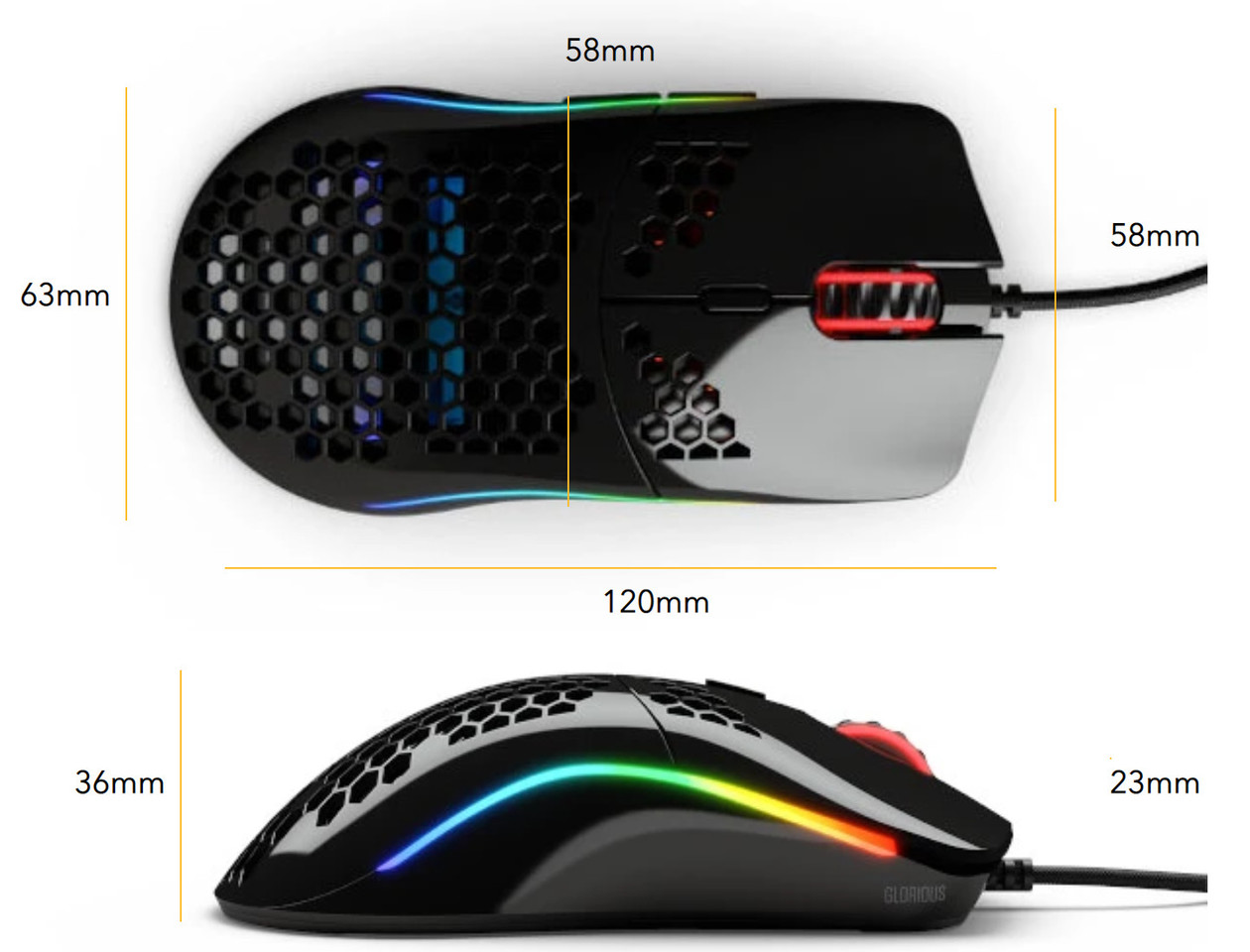 Glorious PC Gaming Race Unveils the Model O- Mouse Weighing