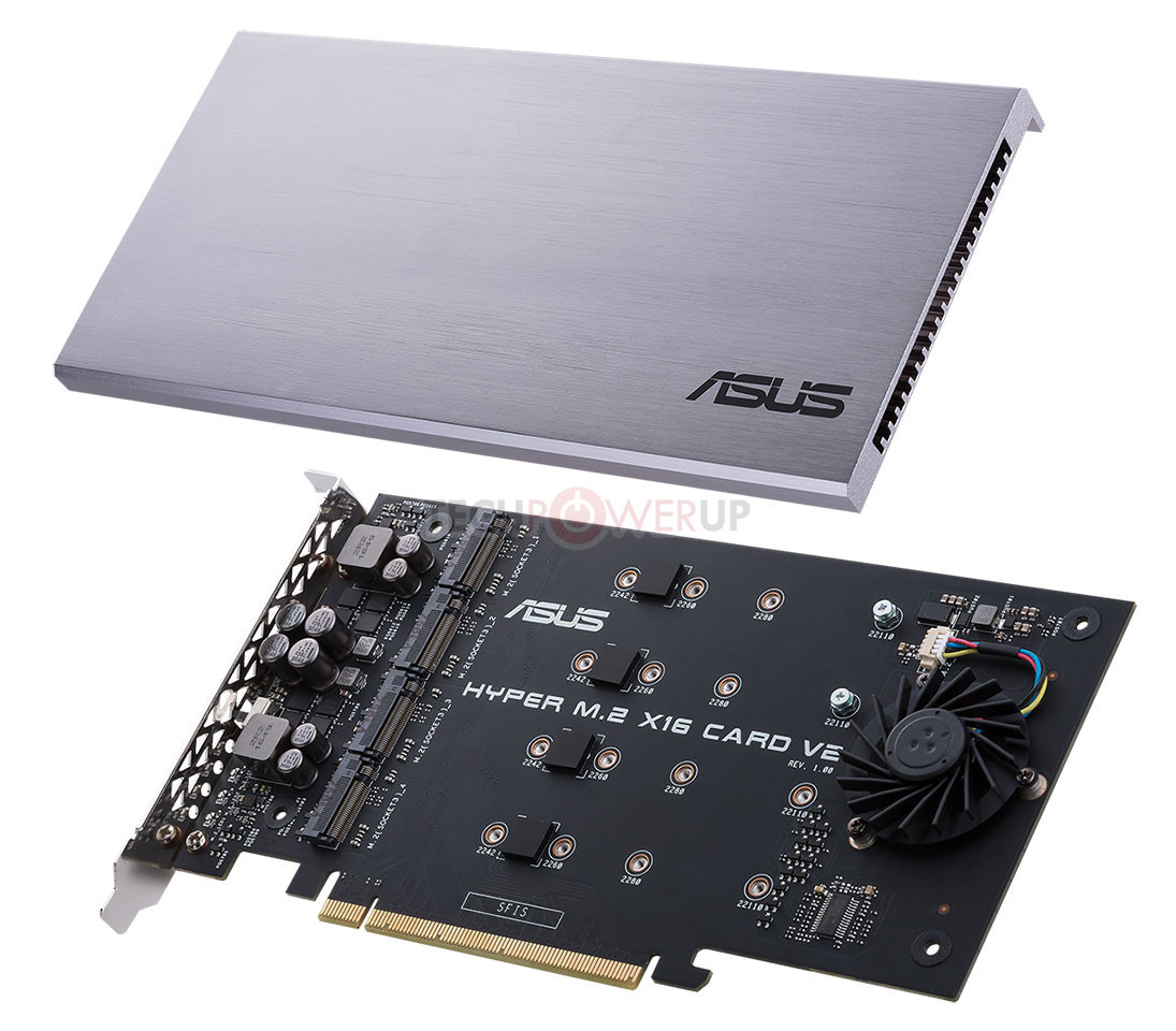 ASUS Rolls Out the Hyper M 2 x16 V2 NVMe RAID Card | TechPowerUp