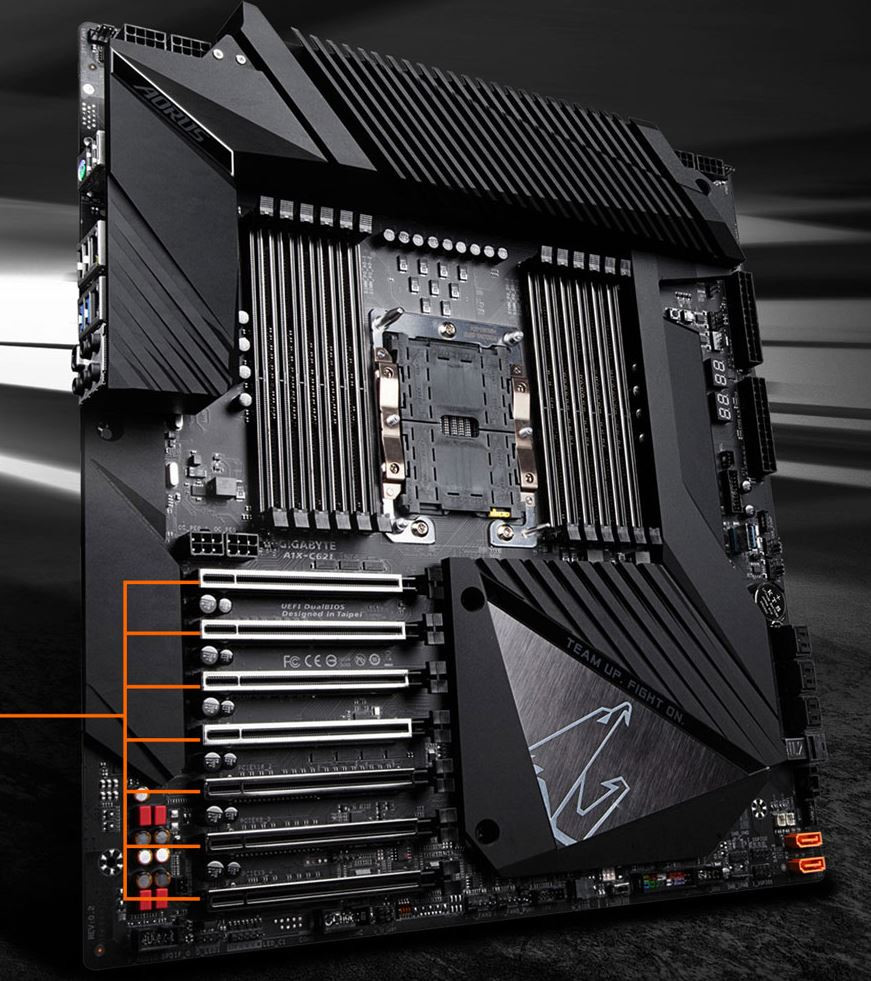 GIGABYTE Unveils C621 Aorus Xtreme to Challenge ROG Dominus