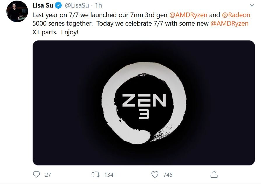 Zen 3 Is On Track And Launching Later This Year Amd Ceo Techpowerup