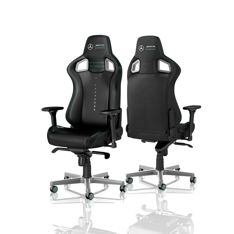 Noblechairs Introduces Mercedes-AMG Petronas Licensed Gaming