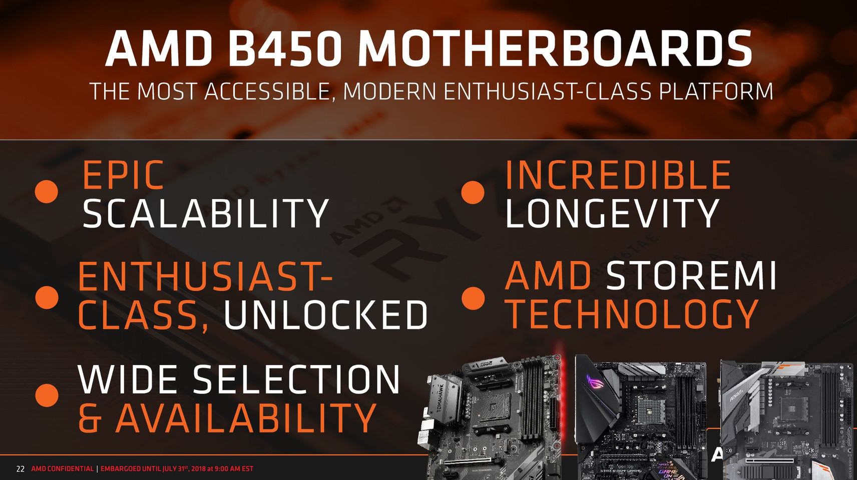 AMD Announces the B450 Chipset | TechPowerUp