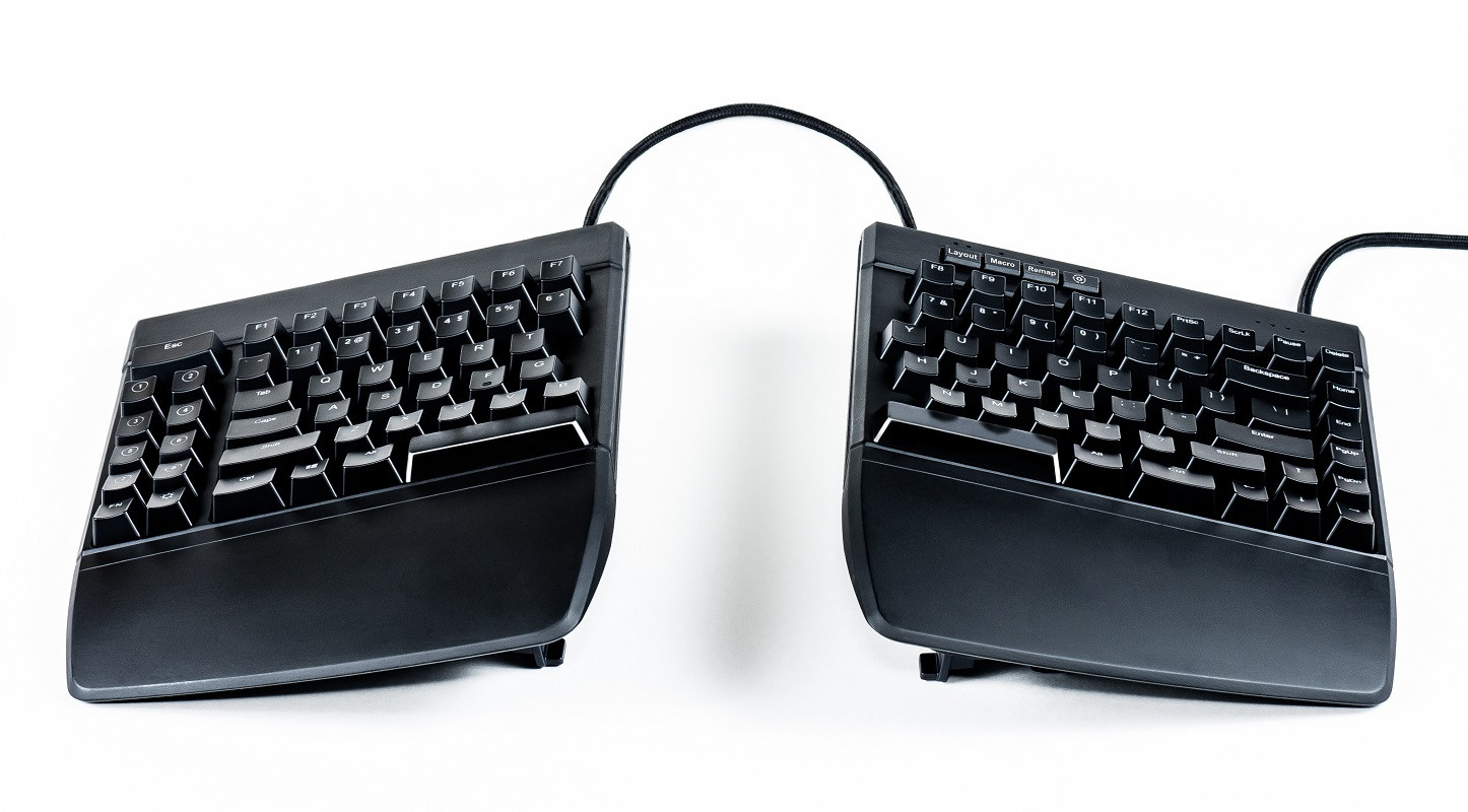 Computer input devices has introduced freestyle a range - The Freestyle Edge Halves Can Be Separated By As Much As 20 Allowing Users To Accommodate The Keyboard To Fit Their Specific Shoulder Width