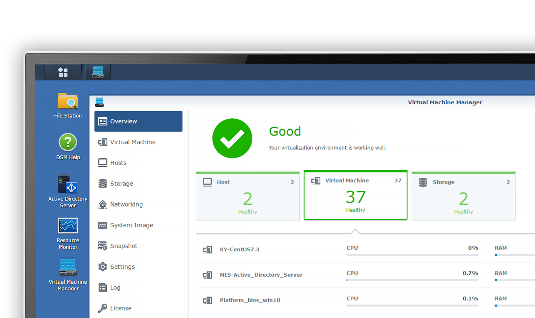 Synology Announces Virtual Machine Manager and Virtual DSM