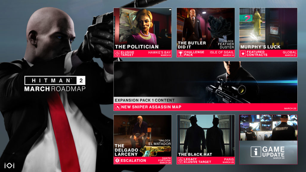 Hitman 2 to Get DirectX 12 Renderer Through a Patch Later