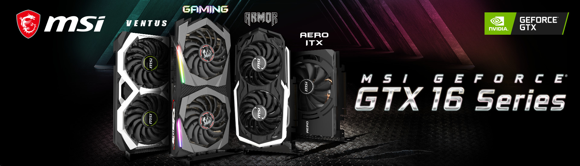 MSI Reveals New GeForce GTX 1660 Series Graphics Cards