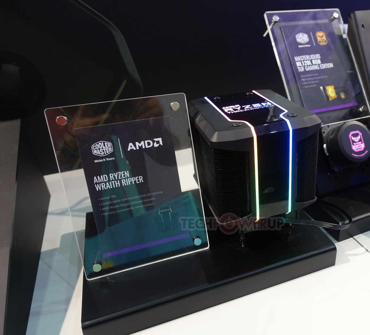 AMD Marries Cooler Master for Wraith Ripper: Threadripper 2-Designed