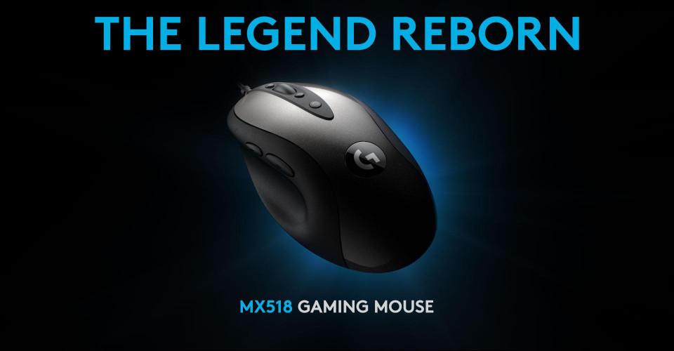 Logitech G Announces the 2019 MX518 Gaming Mouse | TechPowerUp Forums