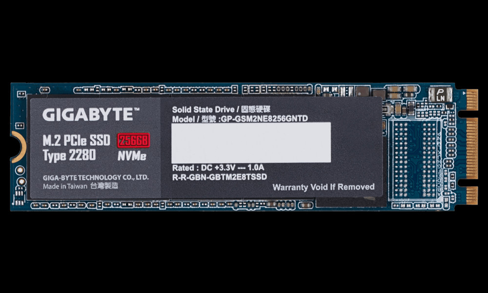 Gigabyte Expands SSD Storage Lineup With NVMe M 2 Solutions