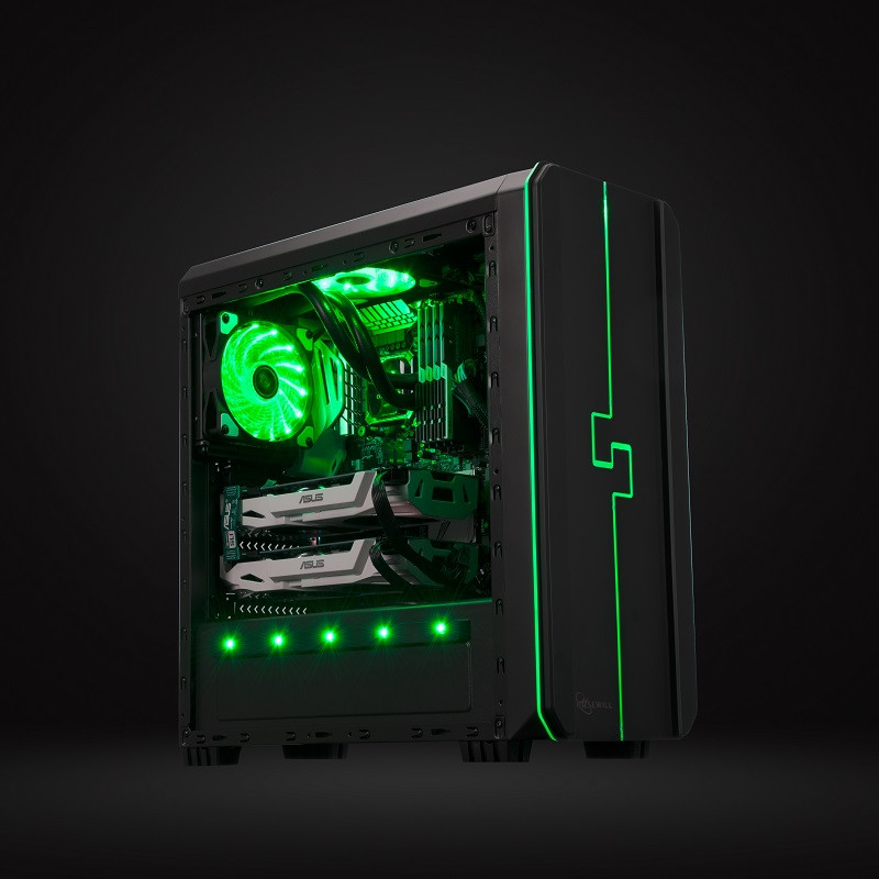 Rosewill Releases New Rgb Gaming Case To Summer Lineup Techpowerup